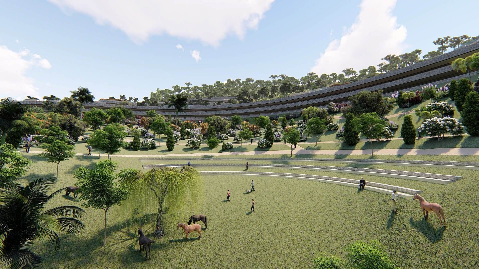 INVESTMENT PROJECT to build an Active Lifestyle Seaview Resort.